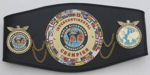 WKF Intercontinental Champion belt