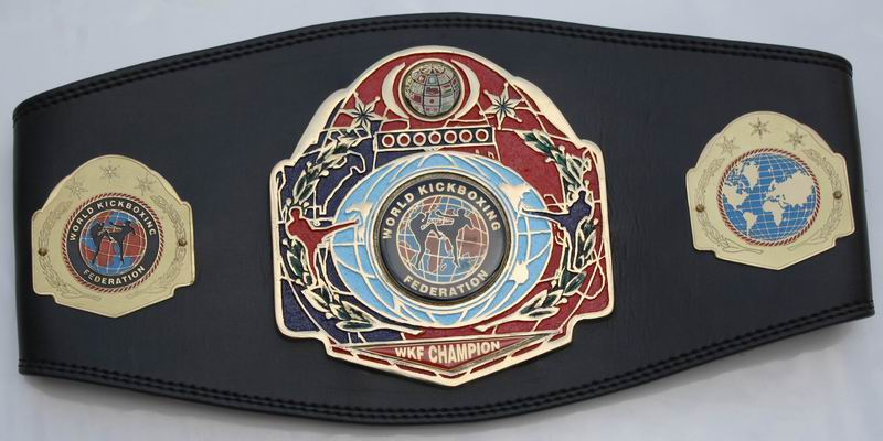 WKF continental Champion belt