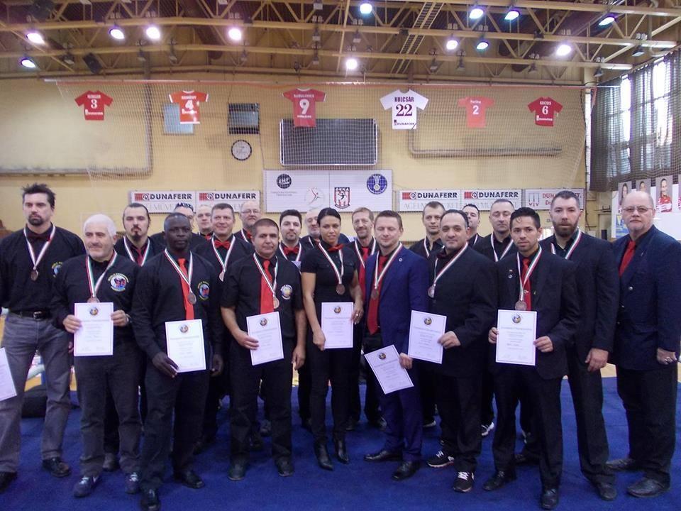 WKF referee team Ungarn 2015