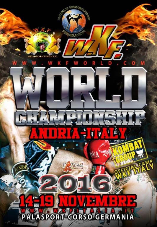 2016.11.14 World Championships, Italy